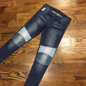 Flying Monkey 2 Tone Denim Skinny Jeans- RARE